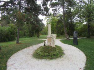Sankt Marxer Friedhof - Mozart Grab